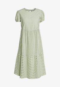 ONLY Petite - ONLSANNIE CALF DRESS PETITE - Denní šaty - desert sage - 0