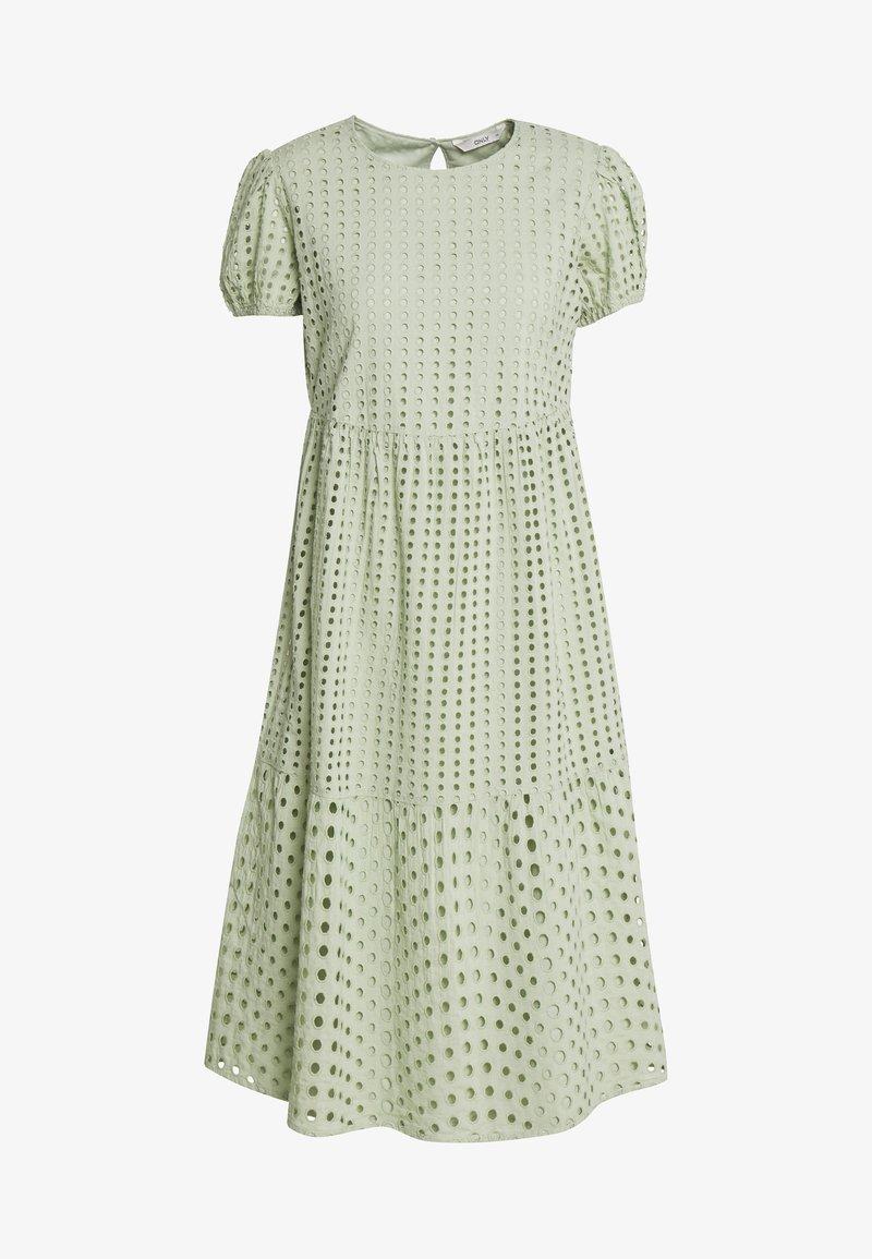 ONLY Petite - ONLSANNIE CALF DRESS PETITE - Denní šaty - desert sage