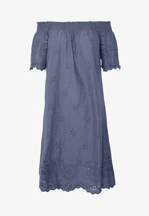 ONLNEW SHERY LIFE EMBANG OFFSHO - Day dress - china blue
