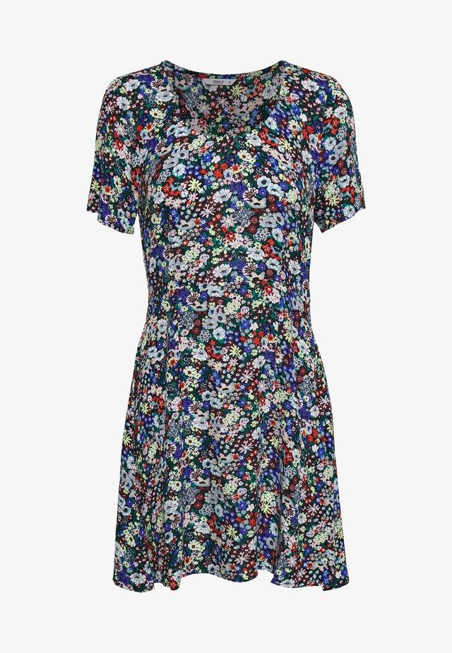 ONLEVA SHORT DRESS PETITE - Korte jurk - night sky