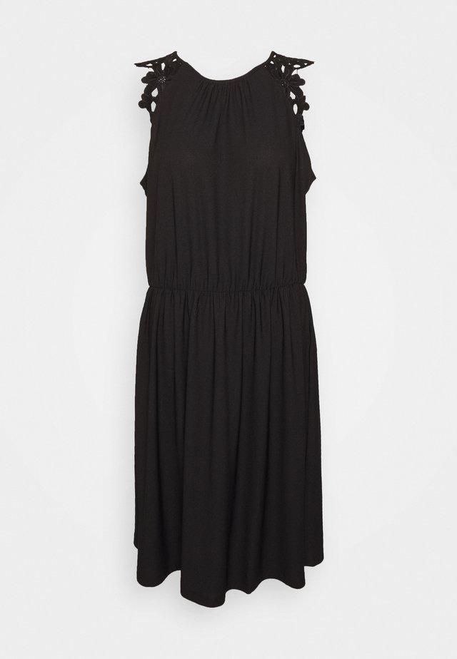 ONLSILJA LIFE DRESS - Robe d'été - black