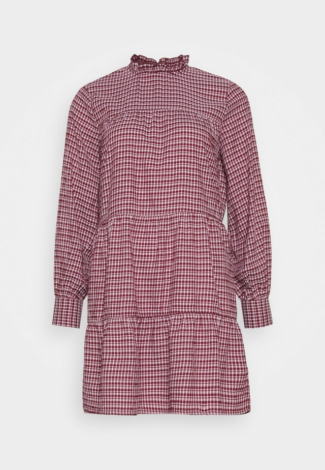 ONLCAROLE LIFE DRESS - Sukienka letnia - pomegranate