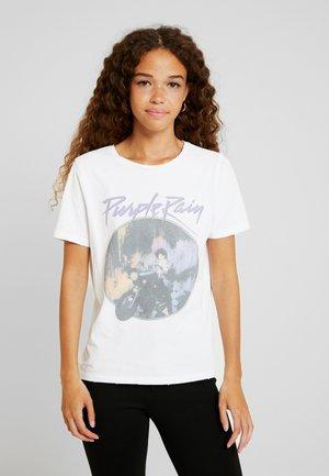 ONLPRINCE TEE BOX - Camiseta estampada - white