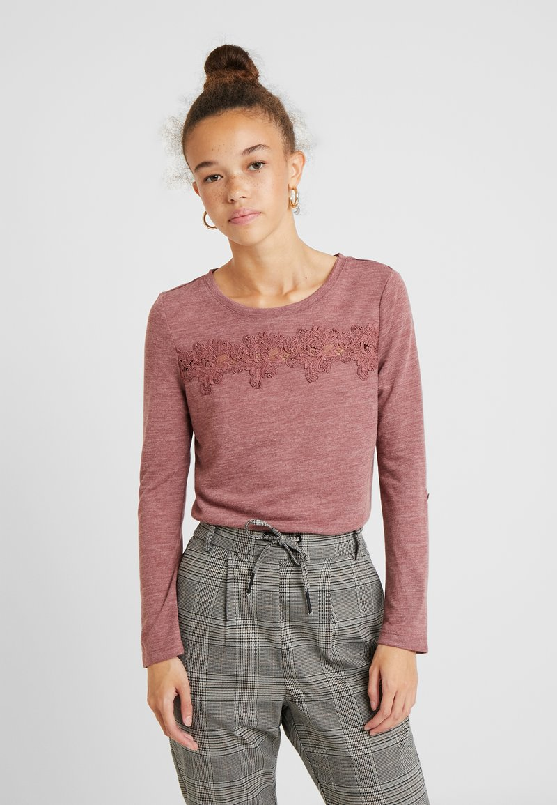 ONLY Petite - ONLCAMERA - Long sleeved top - apple butter