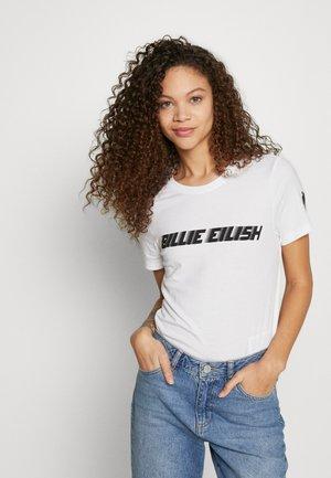 ONLBILLIE  - Camiseta estampada - bright white