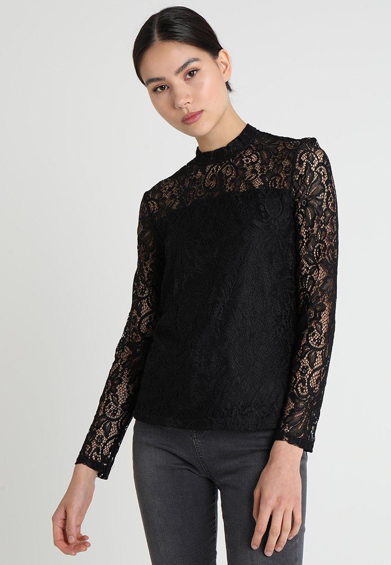 ONLY - ONLSANTA CRUZ  - Bluse - black