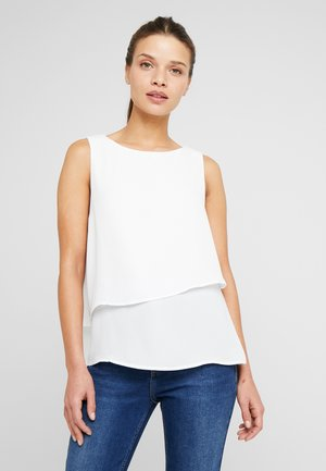 ONLRIED LAYERED - Blouse - cloud dancer