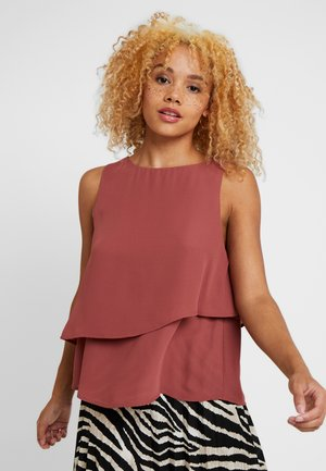 ONLRIED LAYERED - Blouse - apple butter