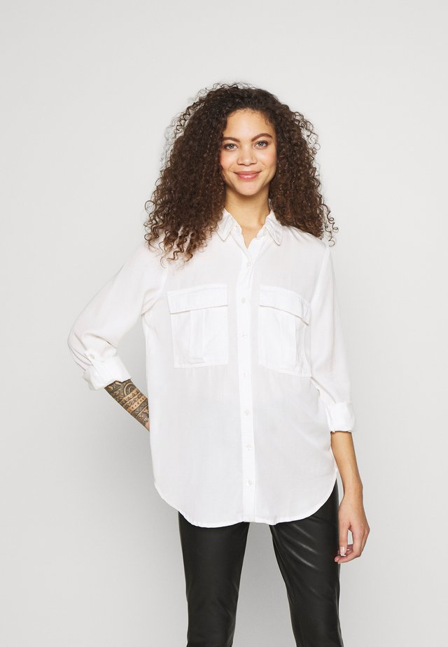 ONLJODIE LIFE - Button-down blouse - cloud dancer