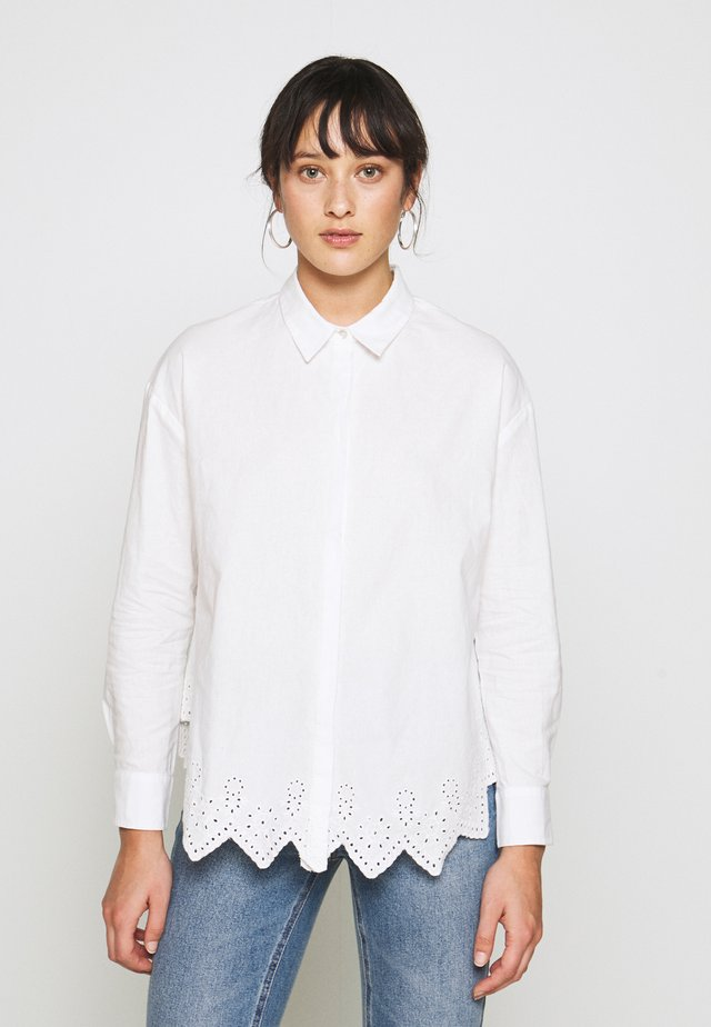 ONLTAMARA  - Button-down blouse - cloud dancer
