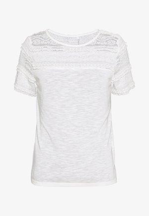 ONLMARJORIE MIX  - Camiseta estampada - cloud dancer