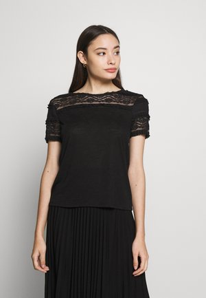 ONLMARJORIE MIX  - T-shirt con stampa - black