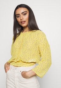 ONLY Petite - ONLSUNNY BLOUSE  - Blouse - misted yellow