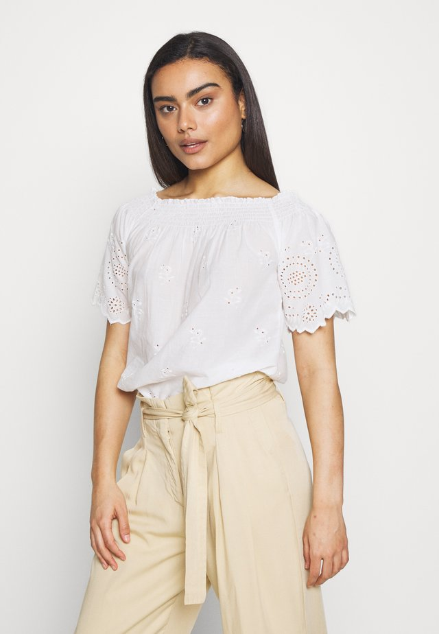 ONLNEW SHERY LIFE - Blouse - cloud dancer
