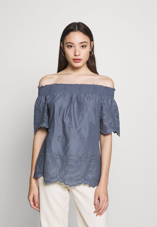 ONLNEW SHERY LIFE - Blouse - china blue