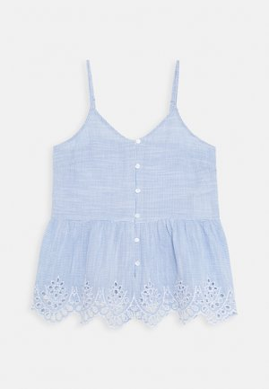 ONLLYDIA - Top - light blue/white