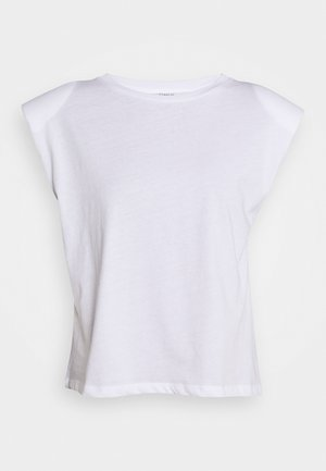 ONLPERNILLE SHOULDER  - T-shirt basique - white