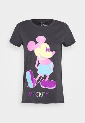 ONLMICKEY - Camiseta estampada - grey