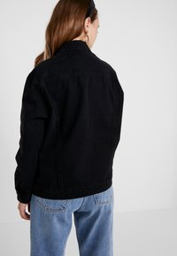 ONLY Petite - ONLCAROLINE JACKET - Denim jacket - black denim - 2