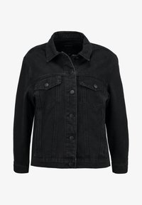 ONLY Petite - ONLCAROLINE JACKET - Denim jacket - black denim - 4