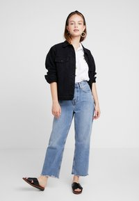 ONLY Petite - ONLCAROLINE JACKET - Denim jacket - black denim - 1