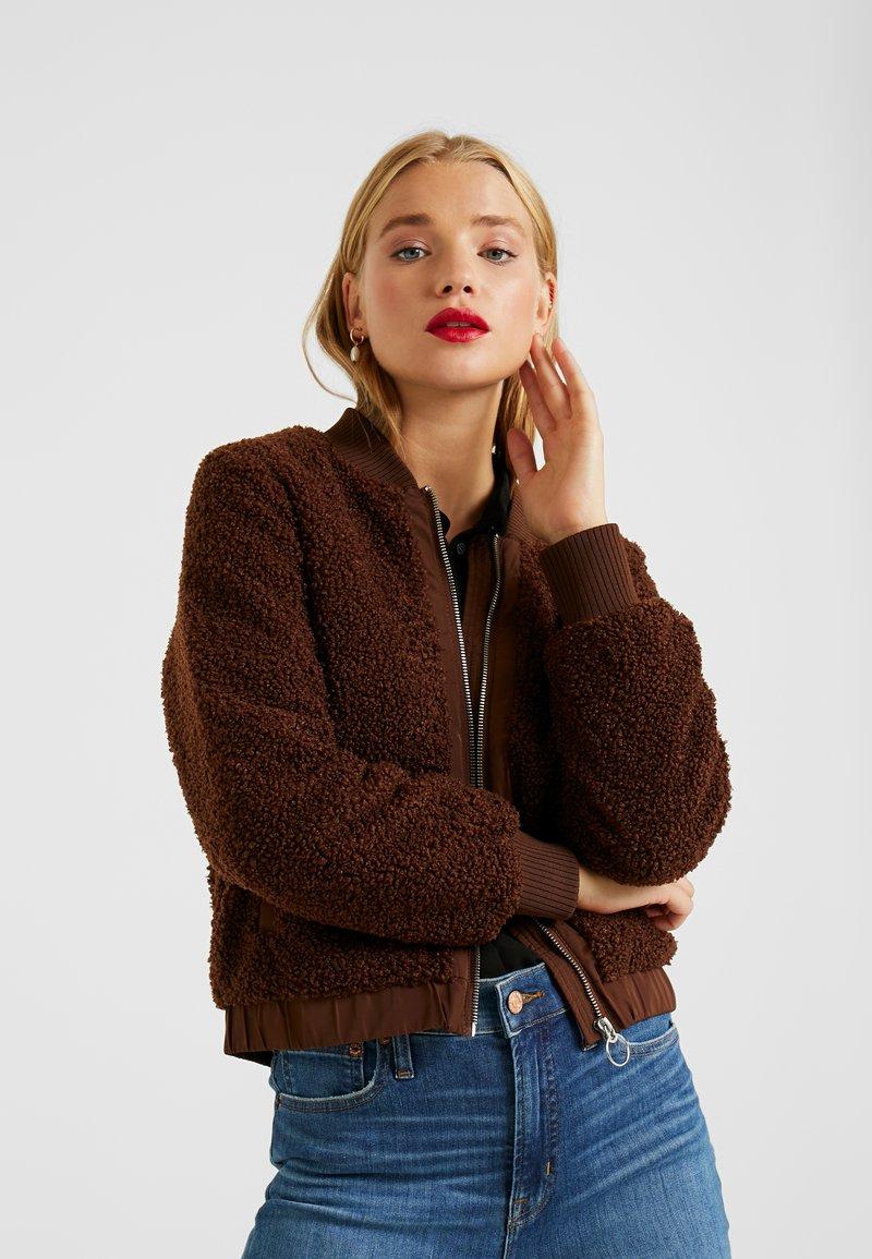 ONLY Petite - ONLINA JACKET - Winter jacket - potting soil