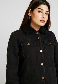 ONLY Petite - ONLBILLY  - Veste en jean - black - 4