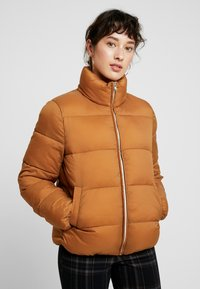 ONLY Petite - ONLNINA QUILTED JACKET - Talvitakki - toasted coconut - 0