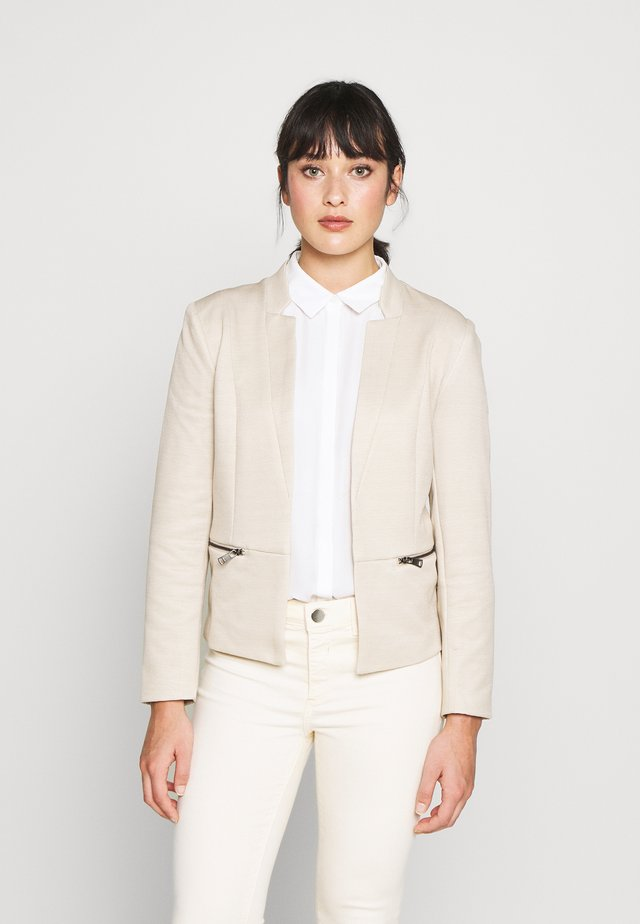 ONLMADDY ICON SHORT - Blazer - pumice stone/cloud dancer