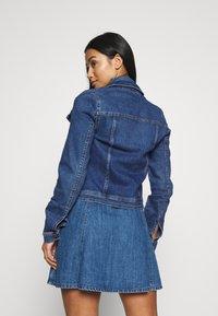 ONLY Petite - ONLWESTA - Giacca di jeans - dark blue denim - 2