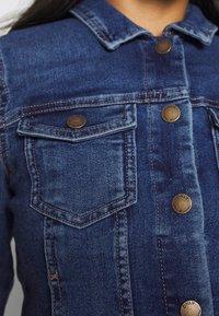 ONLY Petite - ONLWESTA - Giacca di jeans - dark blue denim - 5