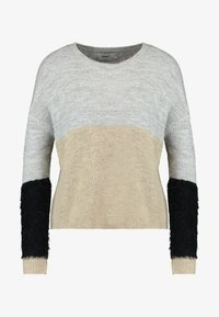 ONLY Petite - ONLSANTANA - Neule - light grey - 4