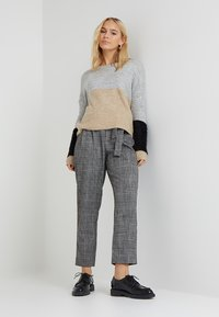 ONLY Petite - ONLSANTANA - Neule - light grey - 1