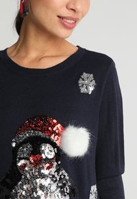 ONLY - ONLXMAS PENGUIN CHRISTMAS - Jumper - night sky/cloud dancer/black - 3