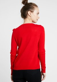 ONLY Petite - ONLX MAS PENGUIN - Jumper - goji berry - 2