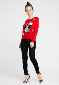 ONLY Petite - ONLX MAS PENGUIN - Jumper - goji berry - 1