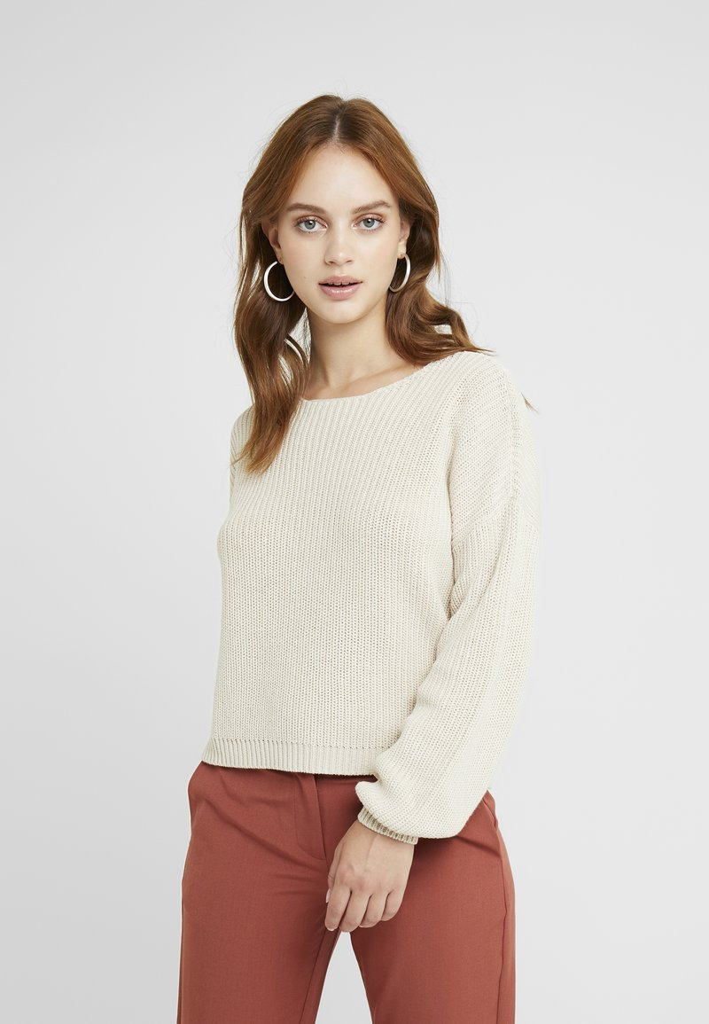 ONLY Petite - ONLXENIA - Strickpullover - pumice stone
