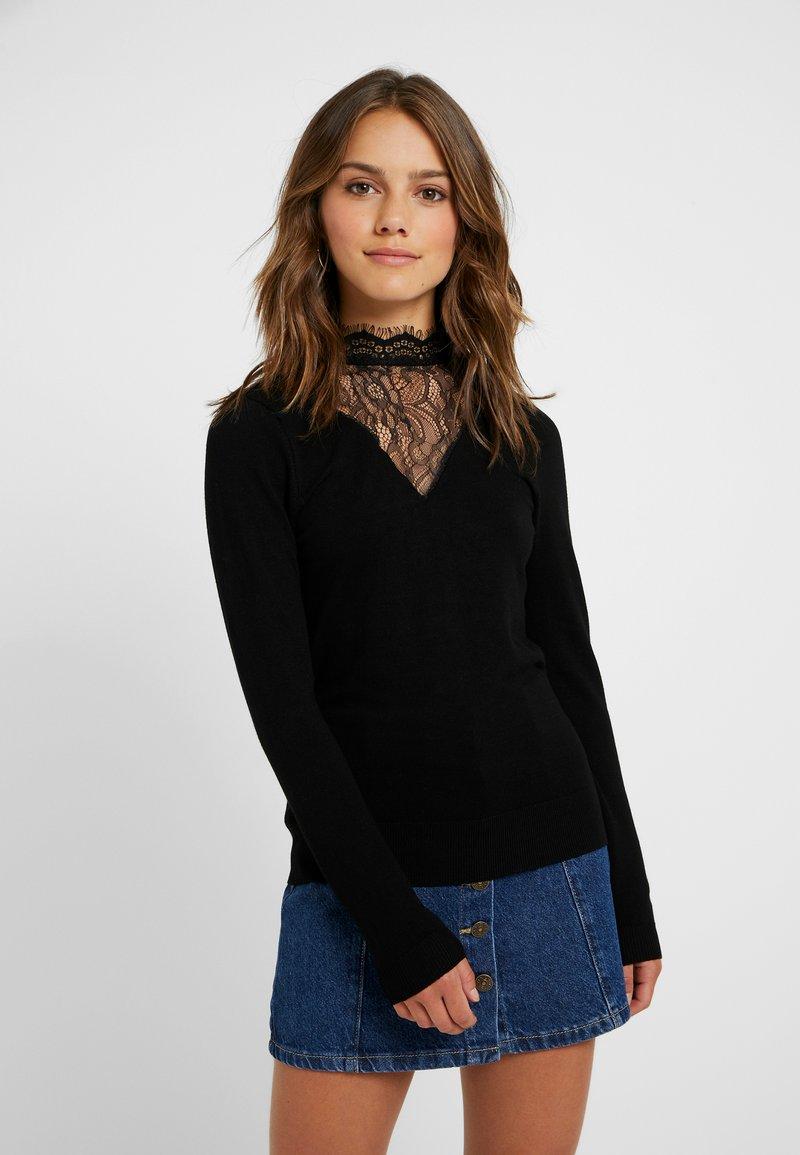 ONLY Petite - ONLLINA - Strickpullover - black