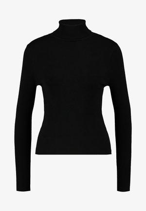 ONLVENICE ROLLNECK PULLOVER - Strickpullover - black