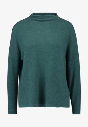ONLKLEO - Pullover - green gables/black melange