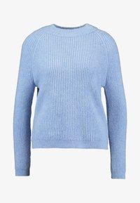 ONLY Petite - Kardigan - forever blue/white melange - 4