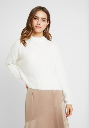 ONYCALI PULLOVER - Strikkegenser - cloud dancer