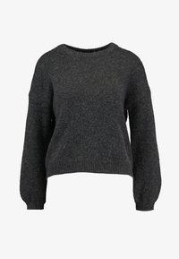 ONLY Petite - ONLROSIE - Svetr - dark grey melange - 4