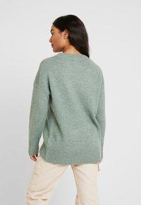 ONLY Petite - ONLNANJING - Pullover - balsam green/melange - 2