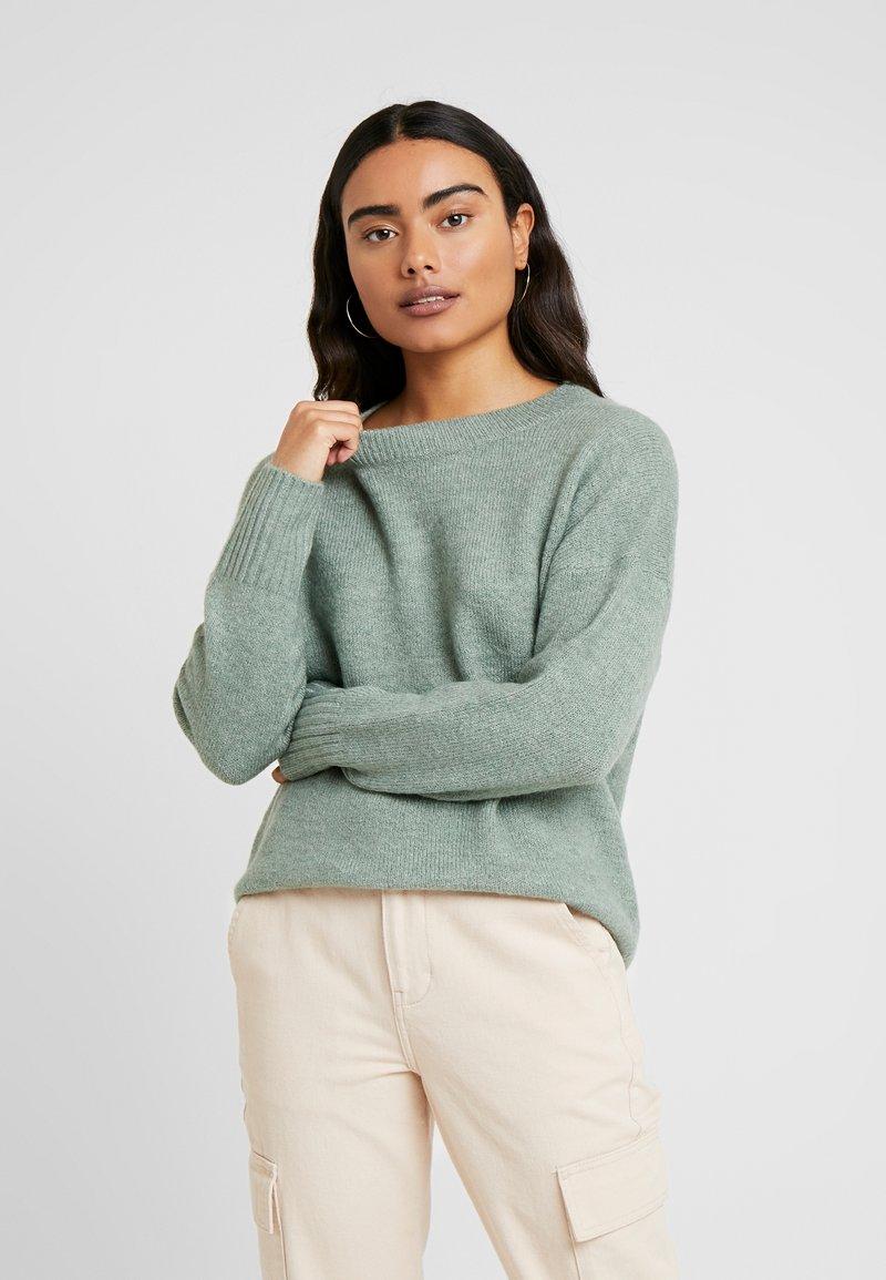 ONLY Petite - ONLNANJING - Pullover - balsam green/melange