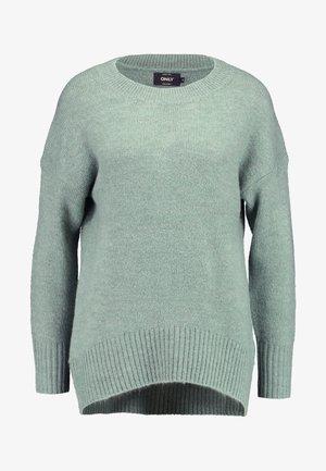 ONLNANJING - Pullover - balsam green/melange