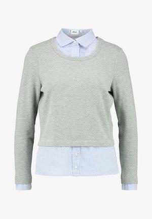 ONLFFALLY O-NECK - Sweater - medium grey melange