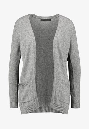 ONLLESLY OPEN CARDIGAN  - Mikina na zip - medium grey melange