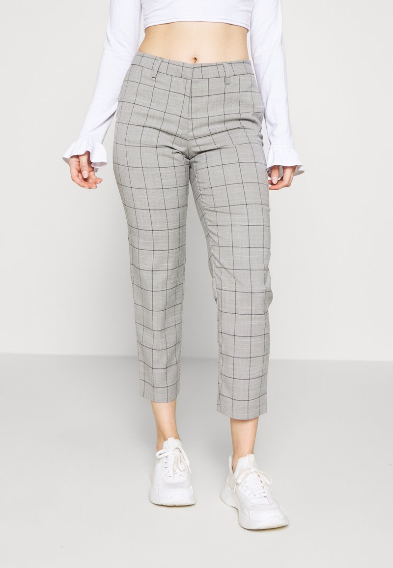 ONLY Petite - ONLSARAH WIN PANT - Bukse - light grey melange