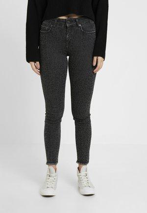 ONLBLUSH MID LEO - Jeans Skinny - black